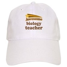 Awesome Biology Teacher Baseball Cap