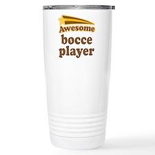 Awesome Bocce Player Travel Mug