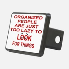 ORGANIZED PEOPLE ARE JUST  Hitch Cover