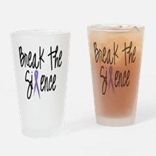 Speak Out, ribbon Drinking Glass