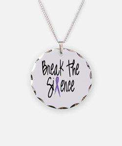 Speak Out, ribbon Necklace