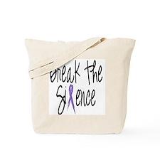 Speak Out, ribbon Tote Bag