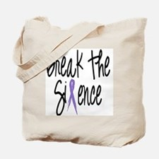 Speak Out, ribbon Tote Bag