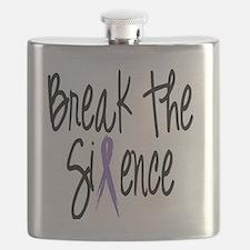 Speak Out, ribbon Flask