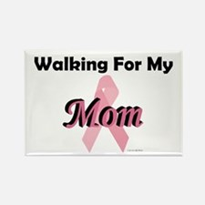 Walking For My Mom (BC) Rectangle Magnet