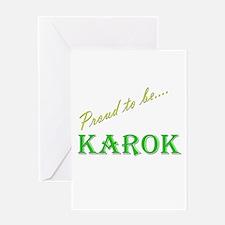 Karok Greeting Card
