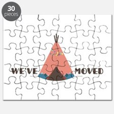 We've Moved Puzzle