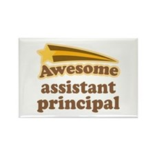 Awesome Assistant Principal Rectangle Magnet