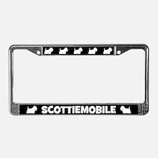 Scottiemobile License Plate Frame
