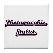 Photographic Stylist Classic Job Desi Tile Coaster