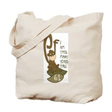 I am 61 years old Tote Bag