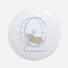 Hamster Wheel Ornament (Round)