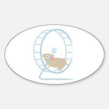 Hamster Wheel Decal