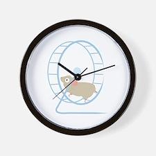 Hamster Wheel Wall Clock