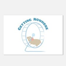 Getting Nowhere Postcards (Package of 8)