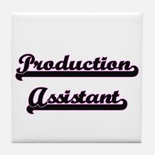 Production Assistant Classic Job Desi Tile Coaster