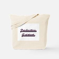 Production Assistant Classic Job Design Tote Bag