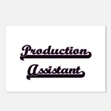 Production Assistant Clas Postcards (Package of 8)