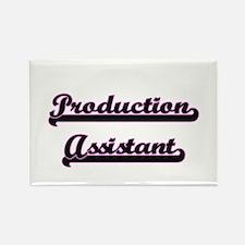 Production Assistant Classic Job Design Magnets