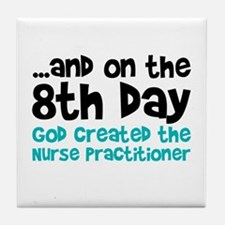 Nurse Practitioner Creation Tile Coaster