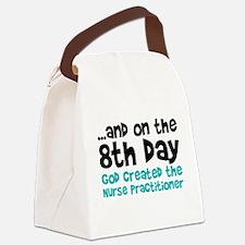 Nurse Practitioner Creation Canvas Lunch Bag