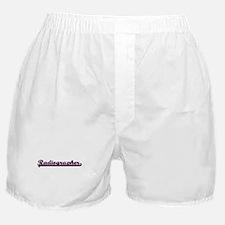 Radiographer Classic Job Design Boxer Shorts