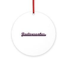 Radiographer Classic Job Design Ornament (Round)