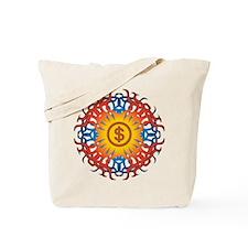 Tribal Money Tote Bag