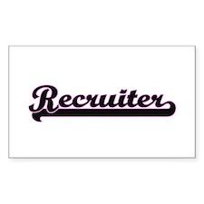 Recruiter Classic Job Design Decal