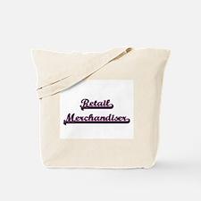 Retail Merchandiser Classic Job Design Tote Bag
