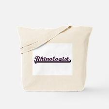 Rhinologist Classic Job Design Tote Bag