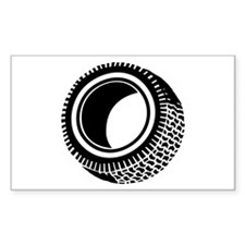 Tire Rectangle Decal