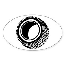 Tire Oval Decal