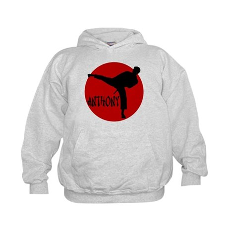 Anthony Martial Arts Kids Hoodie