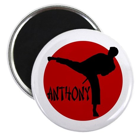 Anthony Martial Arts Magnet
