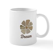 Dream Inspiration Flower Art Mugs