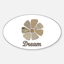 Dream Inspiration Flower Art Decal
