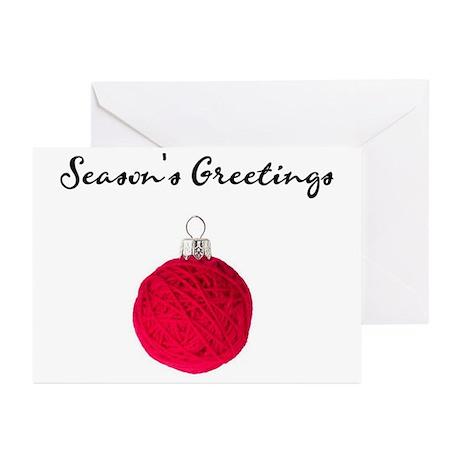 """""""Season's Greetings"""" Gear Greeting Cards (Package"""