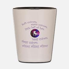 Soft Unicorn Shot Glass