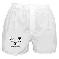 Peace Love Goldendoodles Boxer Shorts