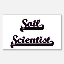 Soil Scientist Classic Job Design Decal