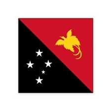 "PNG Flag Square Sticker 3"" x 3"""