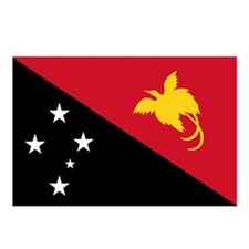 PNG Flag Postcards (Package of 8)