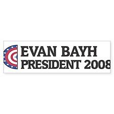 EVAN BAYH for President 2008 Bumper Bumper Sticker