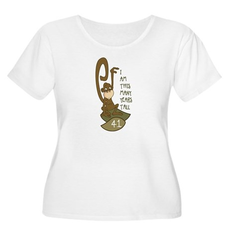 I am 41 years old Women's Plus Size Scoop Neck T-S