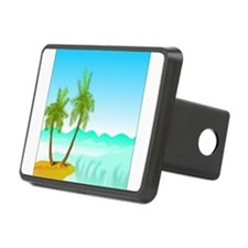 Palm Trees Spring Break Hitch Cover