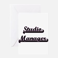 Studio Manager Classic Job Design Greeting Cards