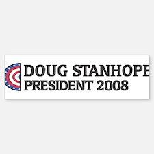 DOUG STANHOPE for President 2 Bumper Bumper Bumper Sticker