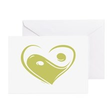 Ying Yang Love Greeting Cards (Pk of 10)