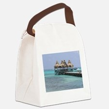 The Perfect beach Spot... Canvas Lunch Bag